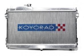Toyota Supra MKIII 86-92 Turbo 1JZ-GTE Koyo Alu Radiator 53m